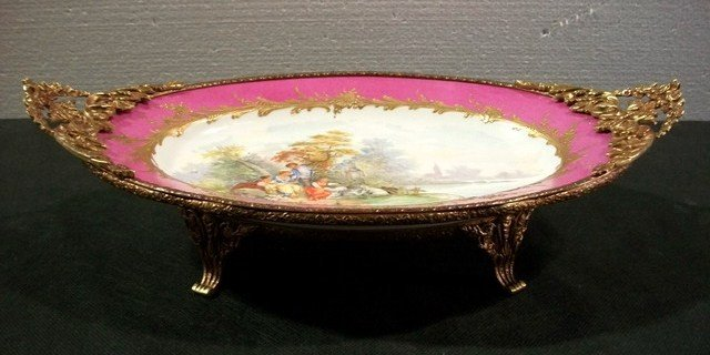 5: Antique Limoges tray