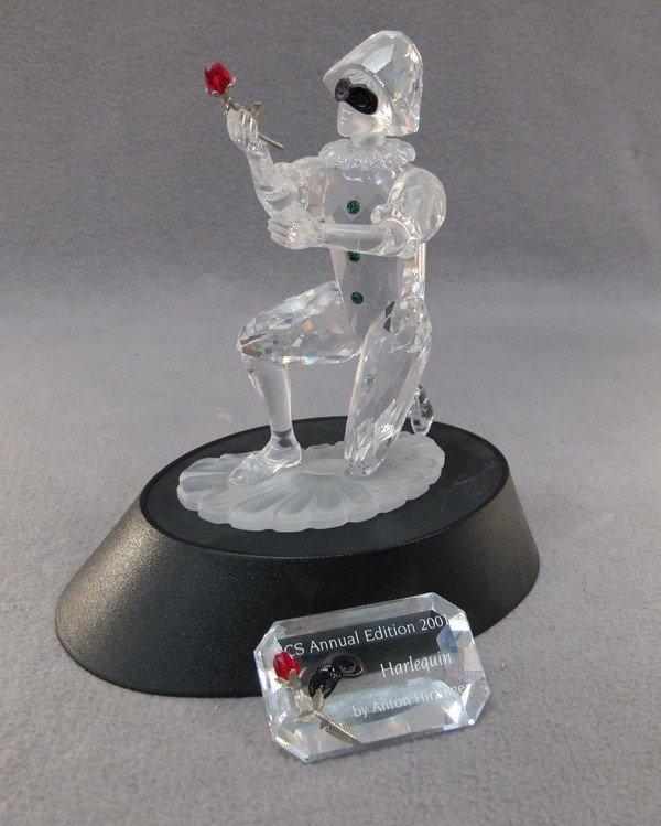 9: Swarovski Harlequin crystal fig.