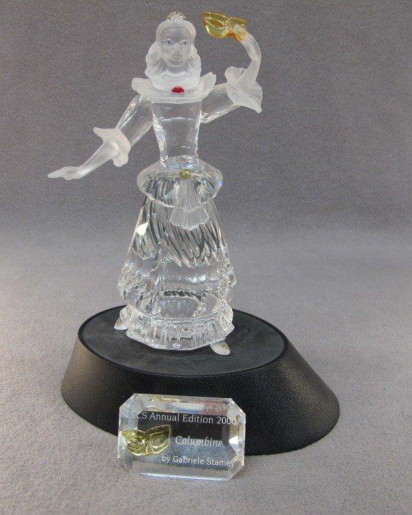 10: Swarovski Columbine crystal fig.