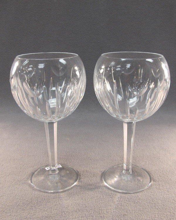 18: Waterford pair of crystal glasses