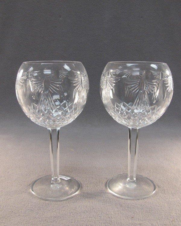 19: Waterford pair of crystal glasses