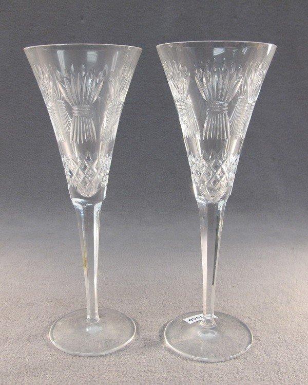 23: Waterford pair of crystal glasses