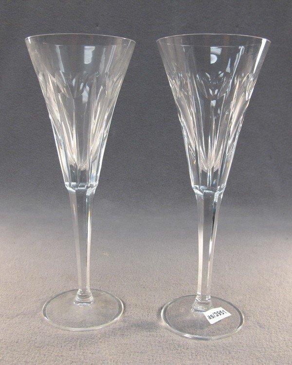 24: Waterford pair of crystal glasses