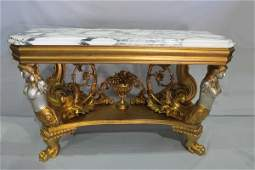 263 Italian pair of console tables