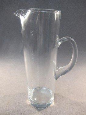 4: Tiffany glass pitcher