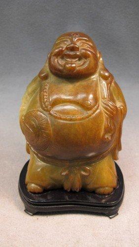 15: Chinese Buddha carved stone