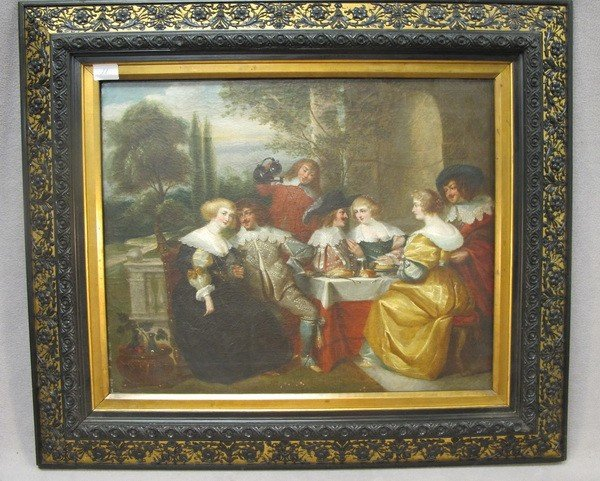 106: 19th C. European scene painting