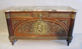291: French 19th C. chest, FOREST