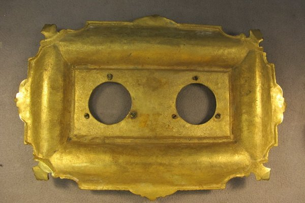 26: French bronze & glass inkwell - 5