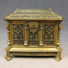 Gothic French Bronze Box