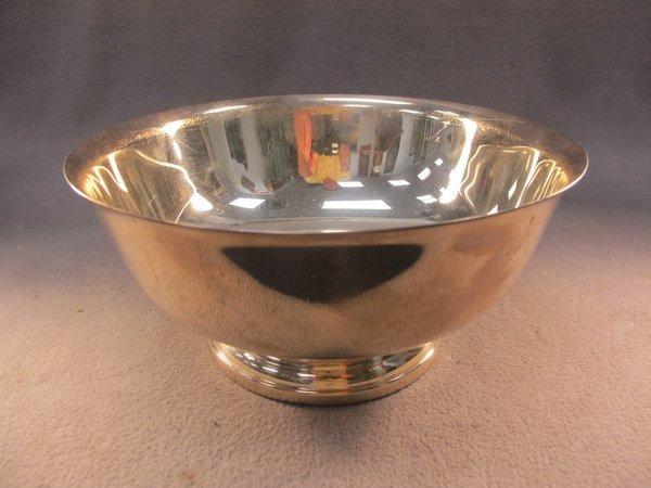 8: Gorham silver-plate bowl