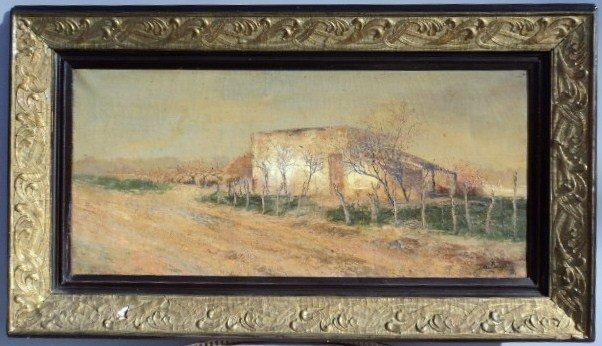 14: European school landscape painting