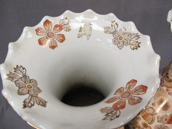 188: Chinese pair of porcelain vases - 5