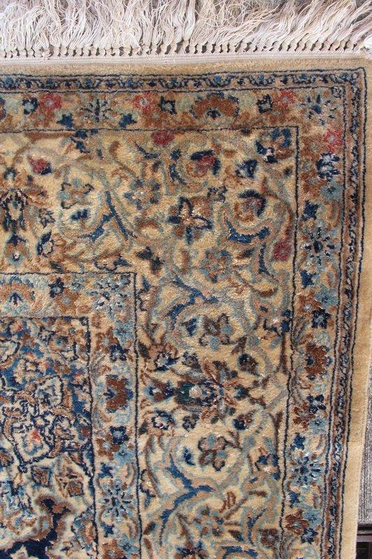 224: Old hand made Persian Tabriz rug - 3