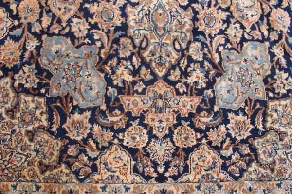 224: Old hand made Persian Tabriz rug - 4