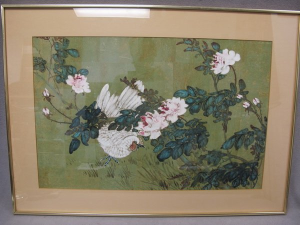 281: HUI CHI MAU (1922- ?) watercolor painting