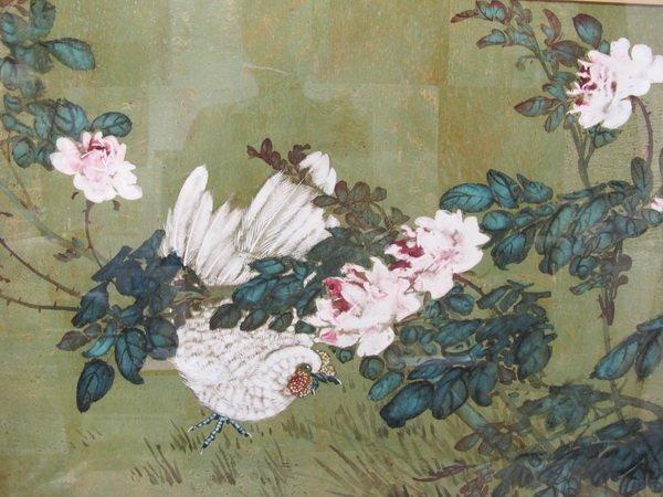 281: HUI CHI MAU (1922- ?) watercolor painting - 2
