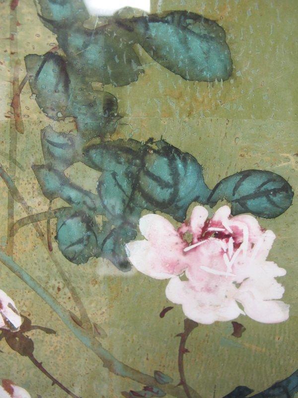 281: HUI CHI MAU (1922- ?) watercolor painting - 5