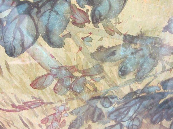 281: HUI CHI MAU (1922- ?) watercolor painting - 6