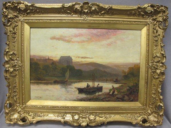 111: Walter Stuart LLOYD (1845-1959) painting