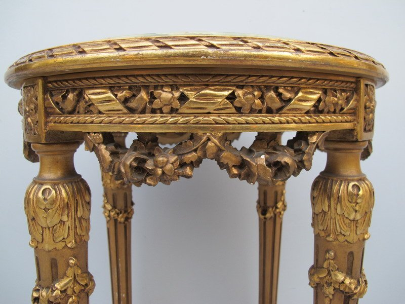 117: Antique French Louis XVI side table - 3