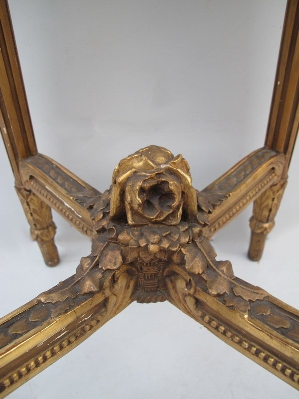 117: Antique French Louis XVI side table - 5