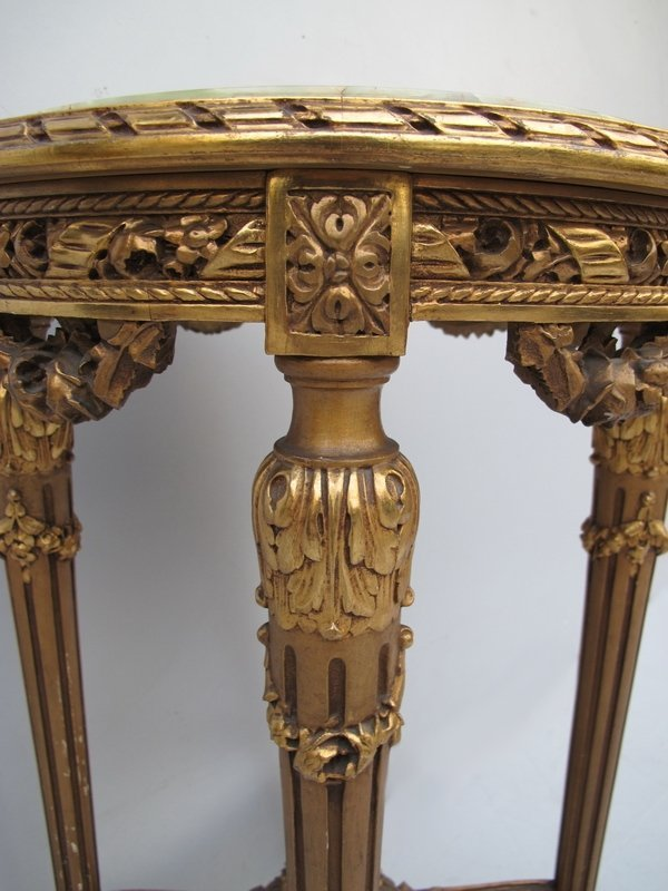 117: Antique French Louis XVI side table - 6