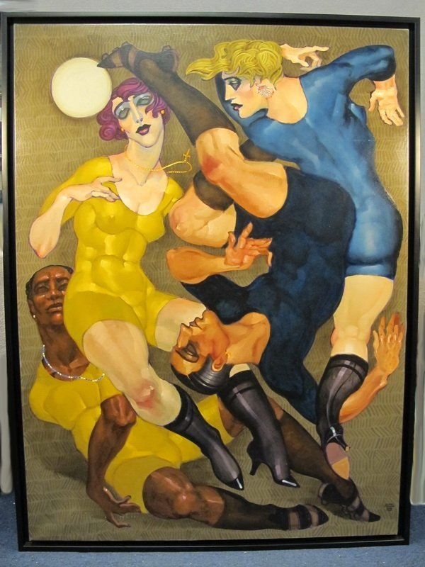 234: Juarez MACHADO (1941) painting