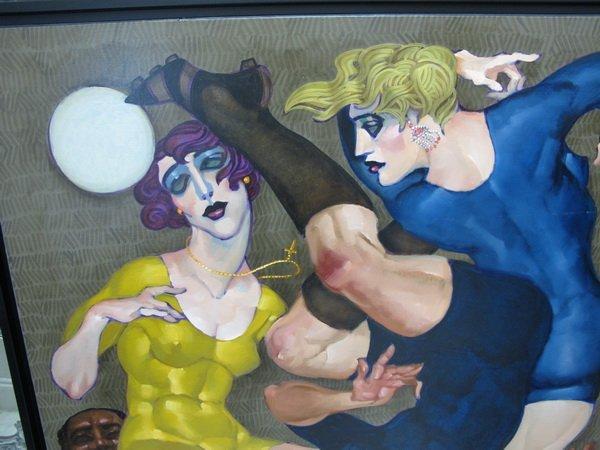 234: Juarez MACHADO (1941) painting - 2
