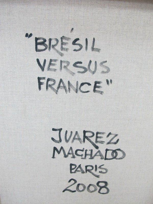 234: Juarez MACHADO (1941) painting - 7