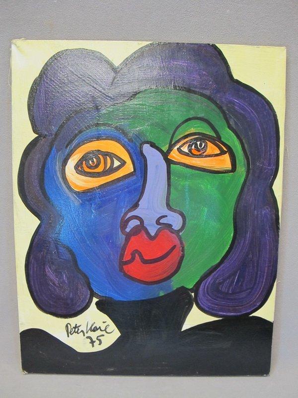 13: Peter KEIL (1942) oil on canvas painting