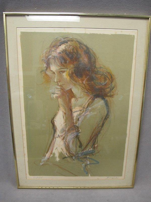 15: Jacques PECNARD (1922) serigraphy