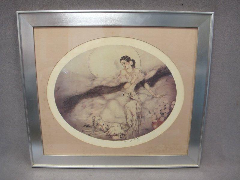 20: Louis ICART (1888-1950) print