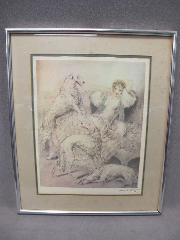 21: Louis ICART (1888-1950) print