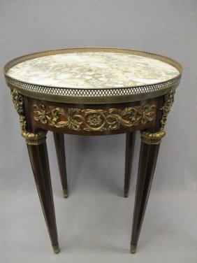 215: French F. Linke style ormolu table
