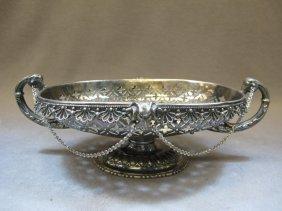 Reed & Barton silver-plate centerpiece, circa 1866