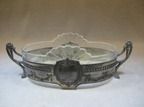 Antique WMF Silver-plate Centerpiece