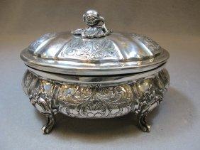 Probably Italian 800 silver box