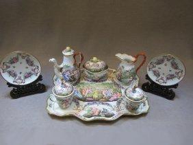 Amazing Capodimonti porcelain set