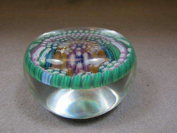 Italian murano glass paperweight