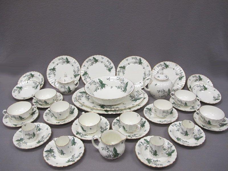 Royal Worcester Valencia porcelain set