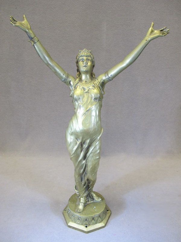 Jean Garnier (1853-1910) SALAMBO bronze statue