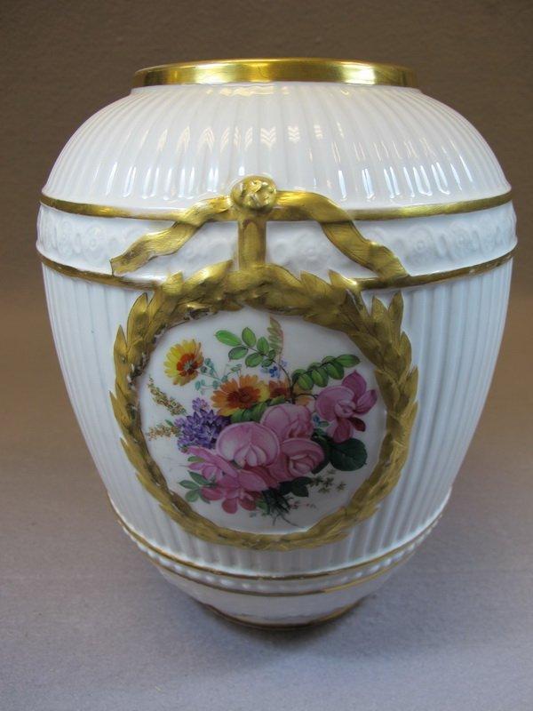 Antique German KPM porcelain vase