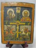A 19th Century  ca 1850  Russian Icon