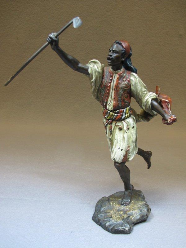 Franz Bergman Orientalist Vienna Bronze