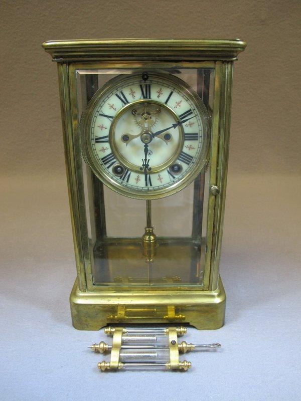 American Ansonia mantle clock