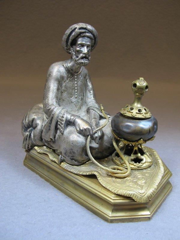 Antique Orientalist Vienna Bronze