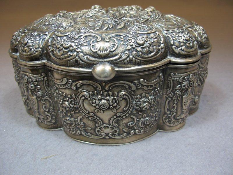 Old 800 Silver German box