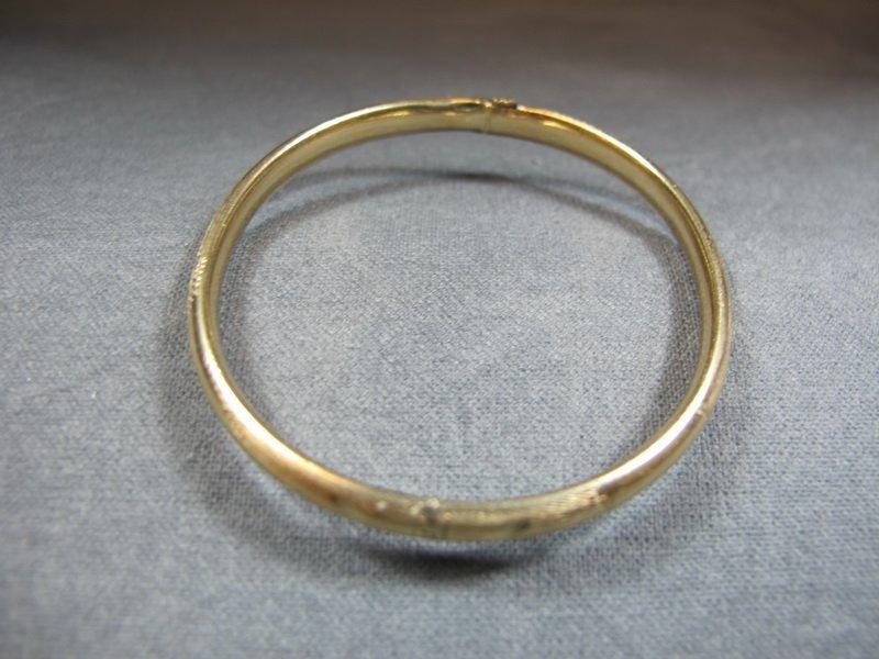 Bracelet, 10 k yellow gold, 4 grams
