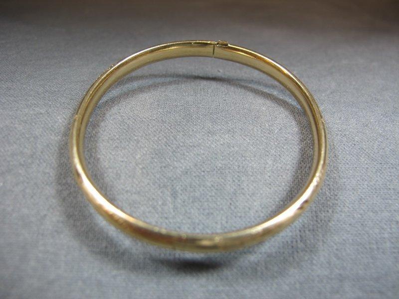 Bracelet, 14 k yellow gold, 4 grams